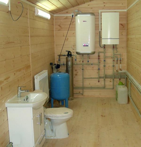 Можно ли установить газовый котел в ванной комнате